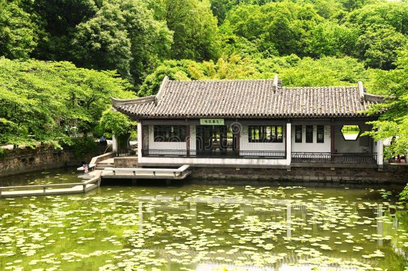 Taihu que constrói a porcelana de wuxi fotos de stock