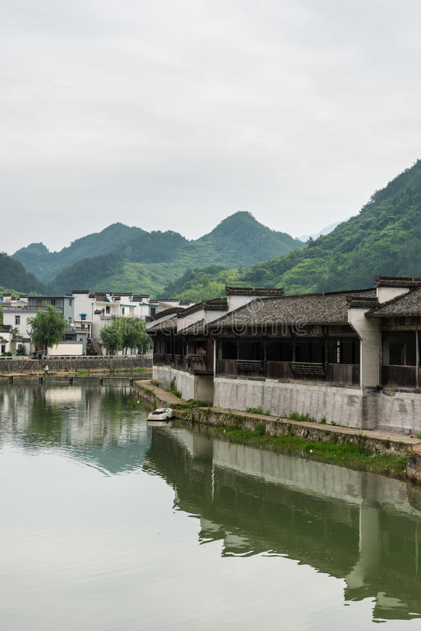 Taijihu village scenery stock images