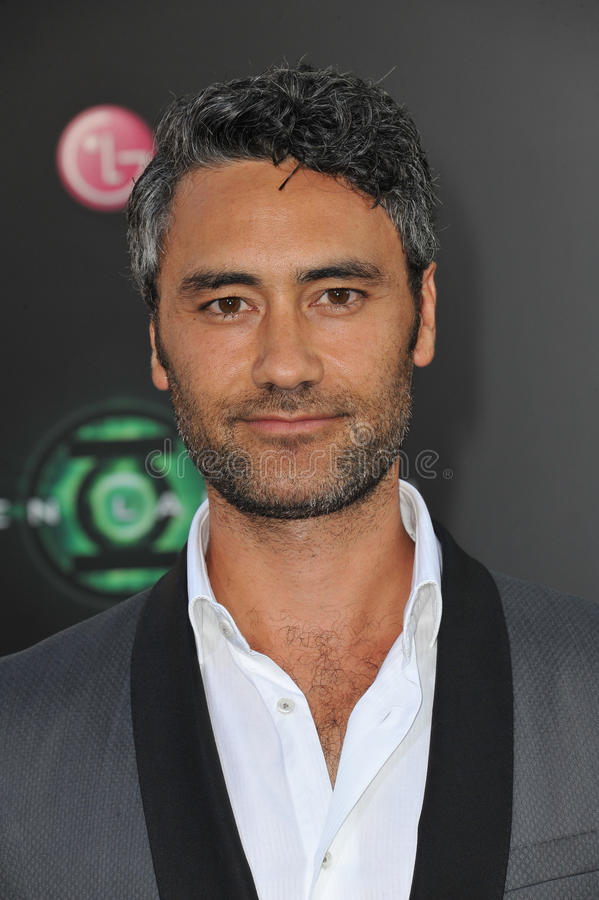 Taika Waititi. At the world premiere of his new movie 'Green Lantern' at Grauman's Chinese Theatre, Hollywood. June 15, 2011 Los Angeles, CA Picture: Paul Smith royalty free stock image