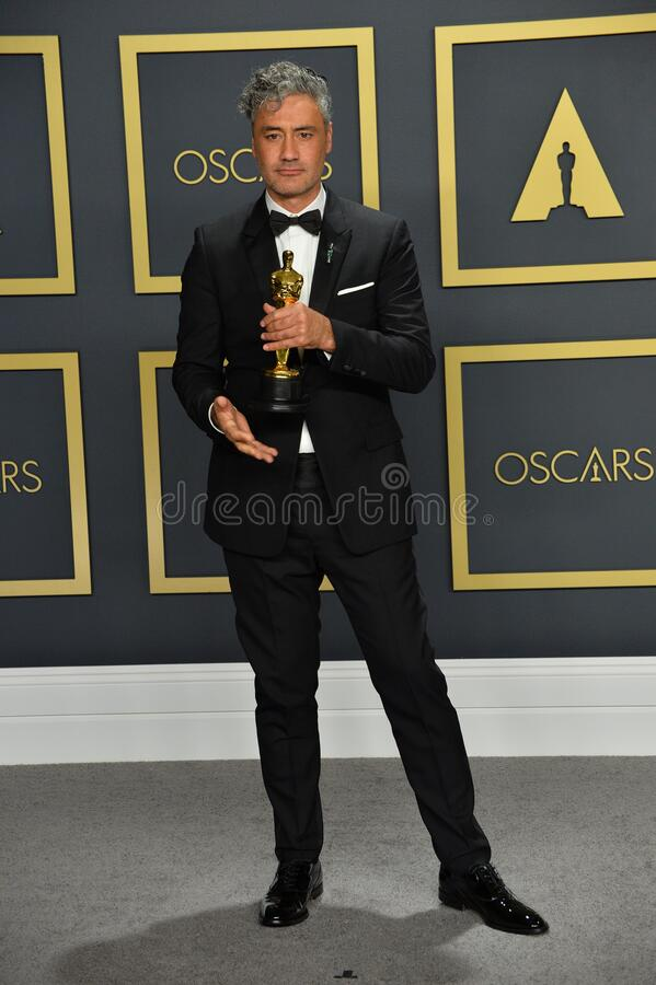 Taika Waititi. LOS ANGELES, USA. February 09, 2020: Taika Waititi at the 92nd Academy Awards at the Dolby Theatre..Picture: Paul Smith/Featureflash stock photos