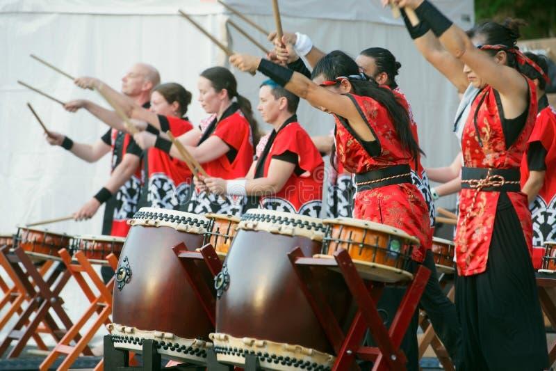 Taiko Drums stock photos