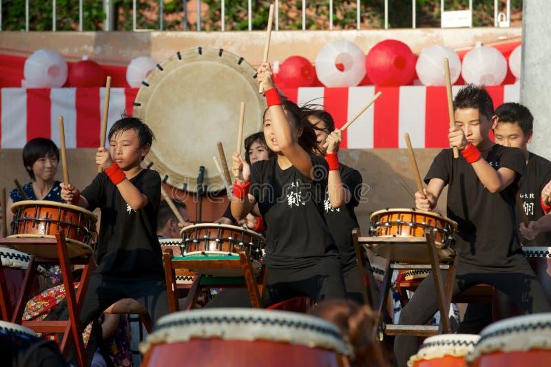 Taiko Drums stock image