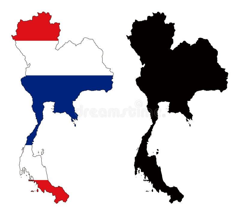 Tailândia ilustração stock