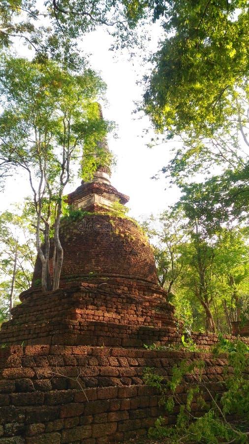 Tailândia arquitetónica antiga foto de stock royalty free