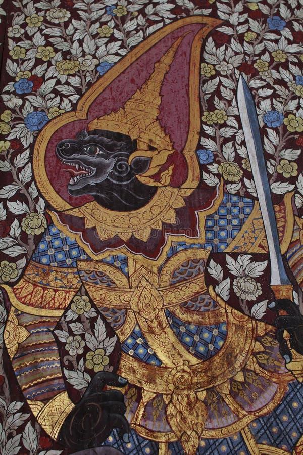 Tailândia art1 fotografia de stock