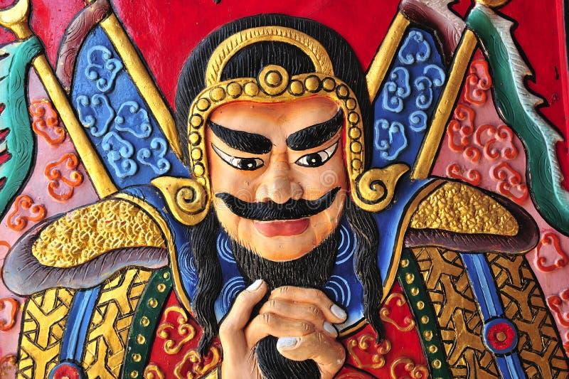 Tailândia Ayutthaya Wat Phanan Choeng imagem de stock