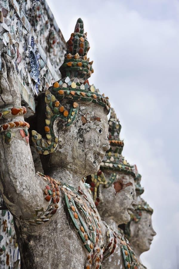 Tailândia, Banguecoque, templo de Arun fotos de stock royalty free