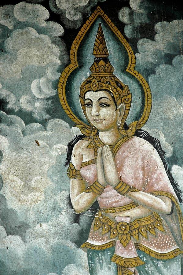 Tailândia, Chiang Mai: Templos foto de stock royalty free