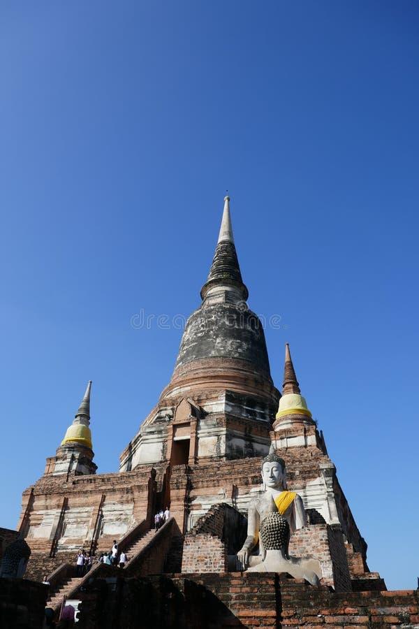 Tailândia de surpresa! em Ayutthaya fotos de stock