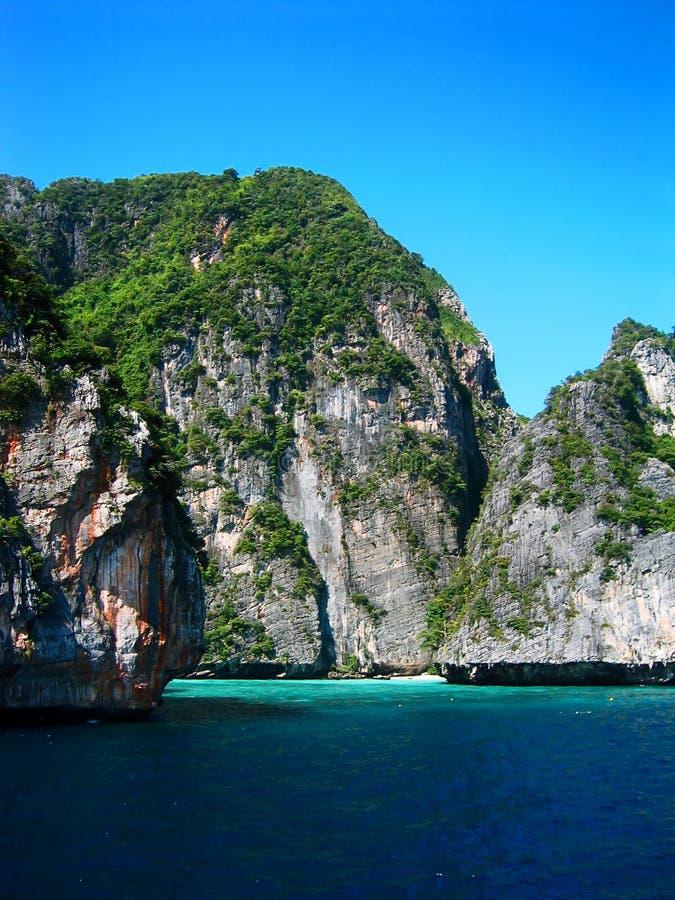 Tailândia - praia X do paraíso imagens de stock royalty free