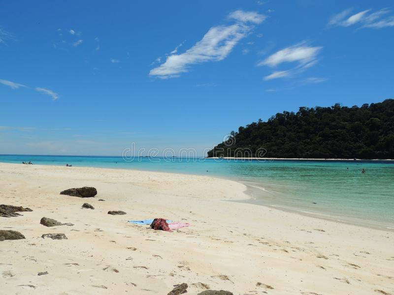 Tailândia, tropical, Phuket, Ásia, ilhas do paraíso, ilhas, paraíso imagens de stock royalty free