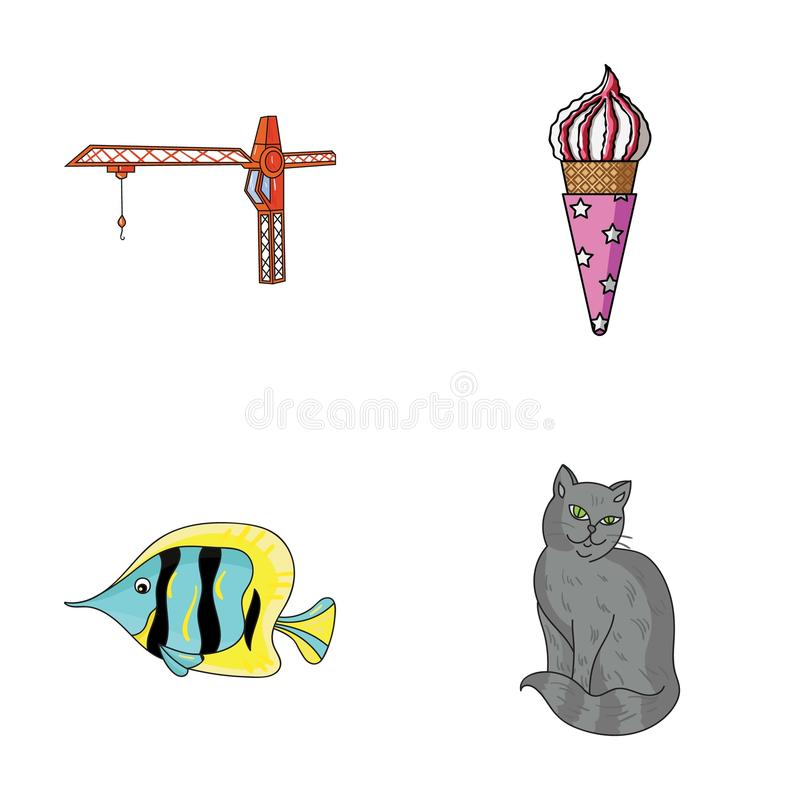 Tail, Animal and other web icon in cartoon style. Desert, rock icons in set collection. stock illustration