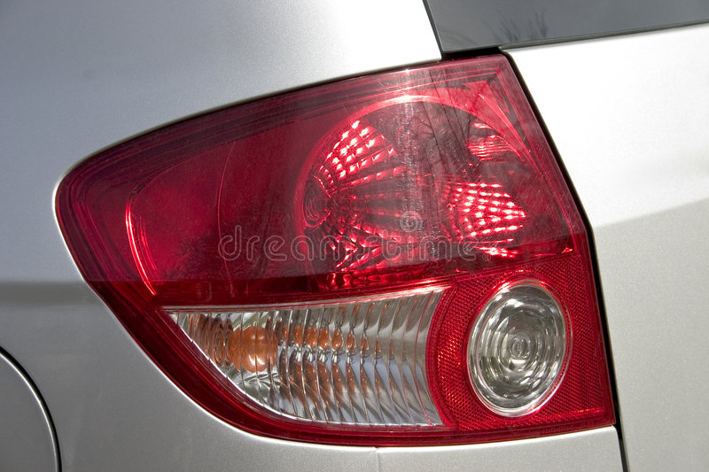 Download Tail light stock photo. Image of brake, silver, reflector - 107764