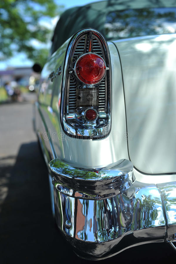 Tail-light And Bumper Royalty Free Stock Photos