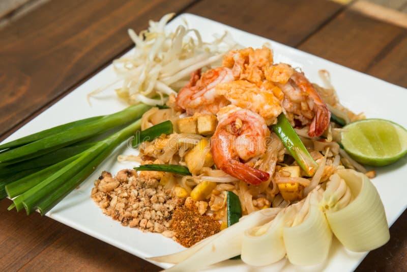` Tailandese di Fried Noodles del cuscinetto tailandese del ` fotografia stock