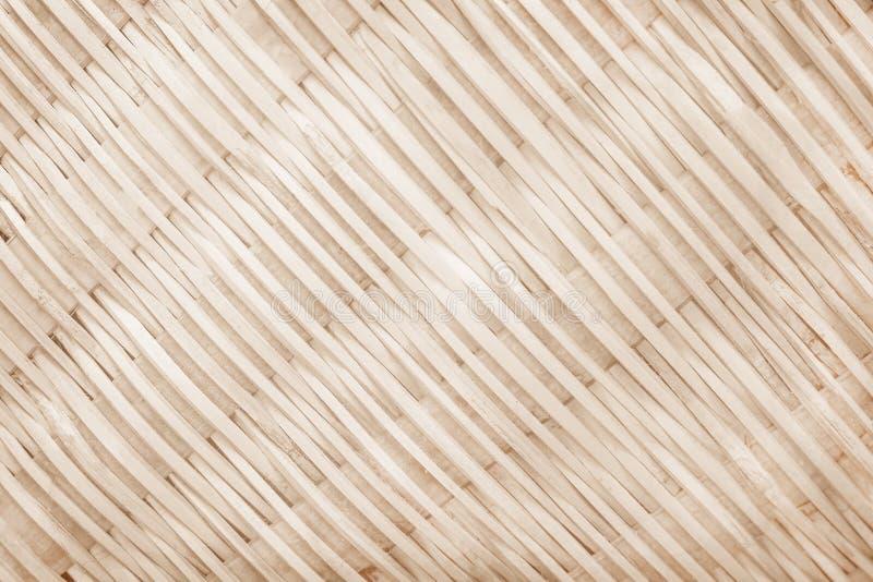 Tailandesi tradizionali handcraft il fondo bianco, grigio o marrone tessuto di bambù dei modelli, della natura fotografie stock libere da diritti
