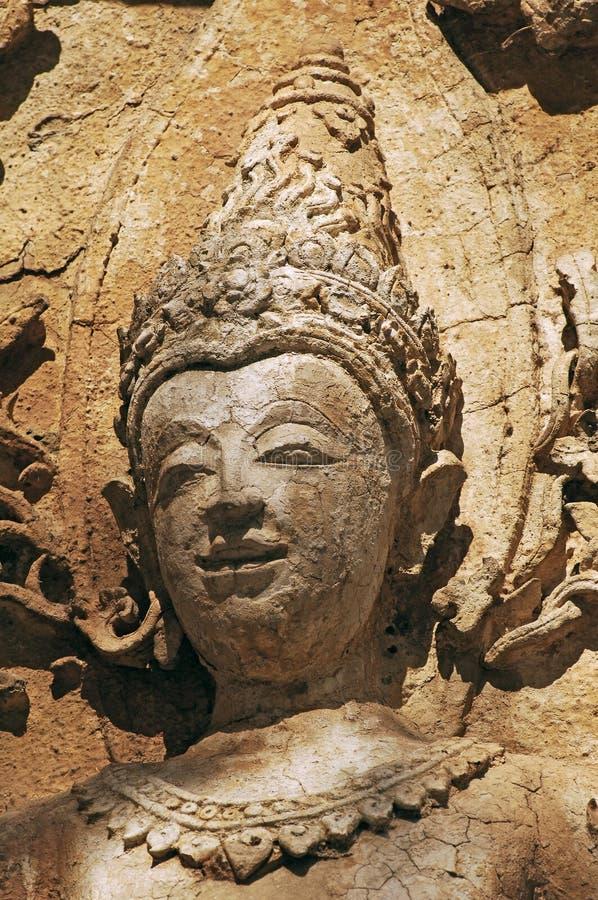 Tailandia Chiang Mai: Templo de Wat Jedyod foto de archivo libre de regalías