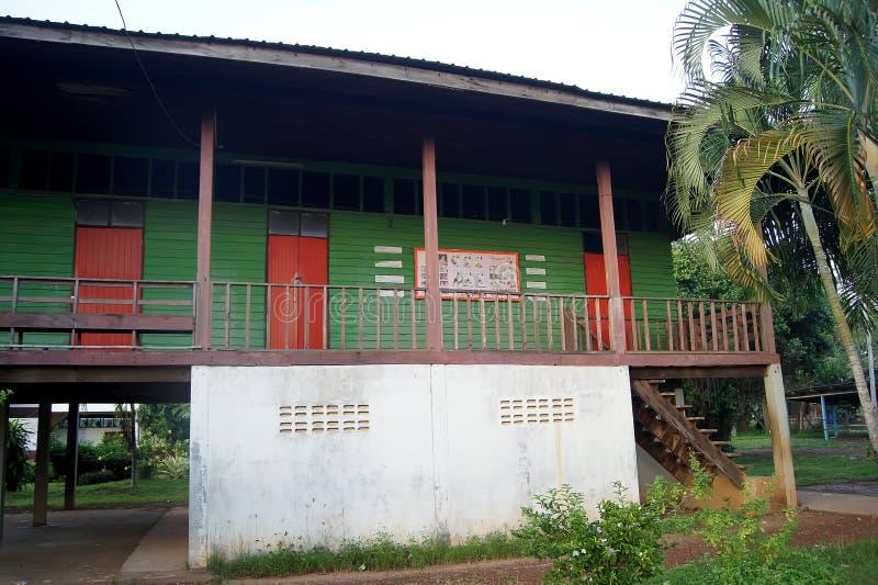 TAILANDIA 4 DE DICIEMBRE DE 2016; la condición de la escuela en la provincia de Sakon Nakhon del noreste del país Tailandia imagen de archivo