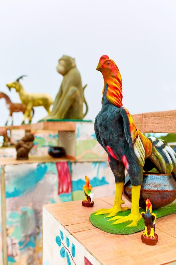 tailandia Estatuas hinese del zodiaco del ¡de Ð en Koh Samui Viaje, turismo foto de archivo libre de regalías