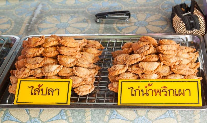 Tailandia frió los pasteles fotografía de archivo libre de regalías