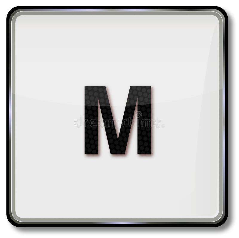 Taille M de robe de textile illustration de vecteur