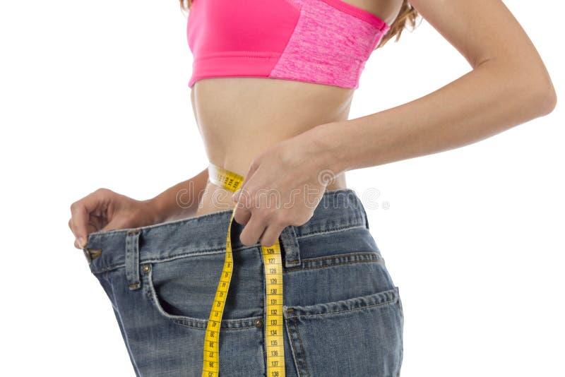 Taille mesurant avec une bande image libre de droits