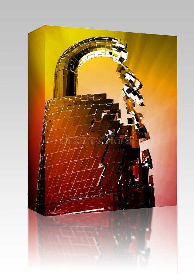 Tailler le module de cadre de degré de sécurité de déviation illustration libre de droits