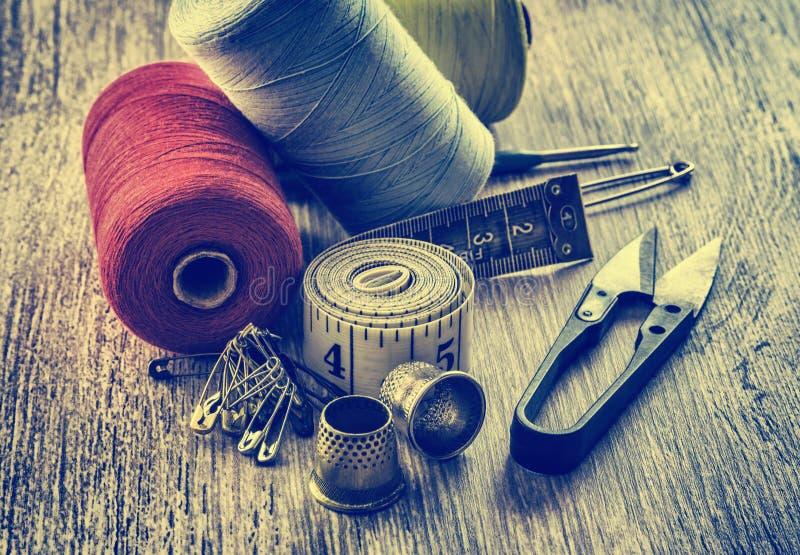 Tailleur de couture d'outil photo libre de droits