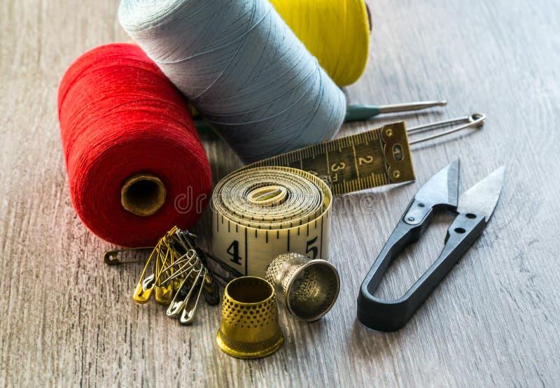 Tailleur de couture d'outil images libres de droits