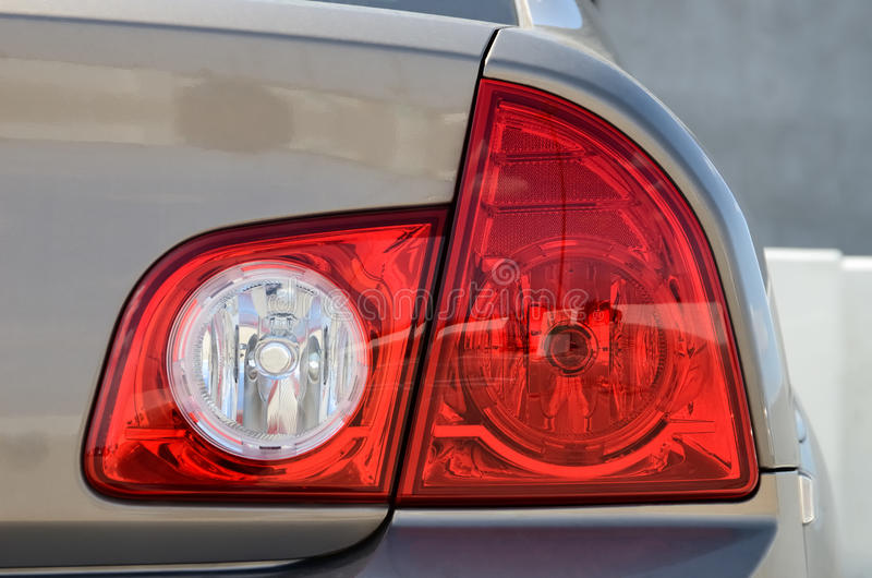 Download Taillight stock image. Image of automotive, metal, modern - 27698075