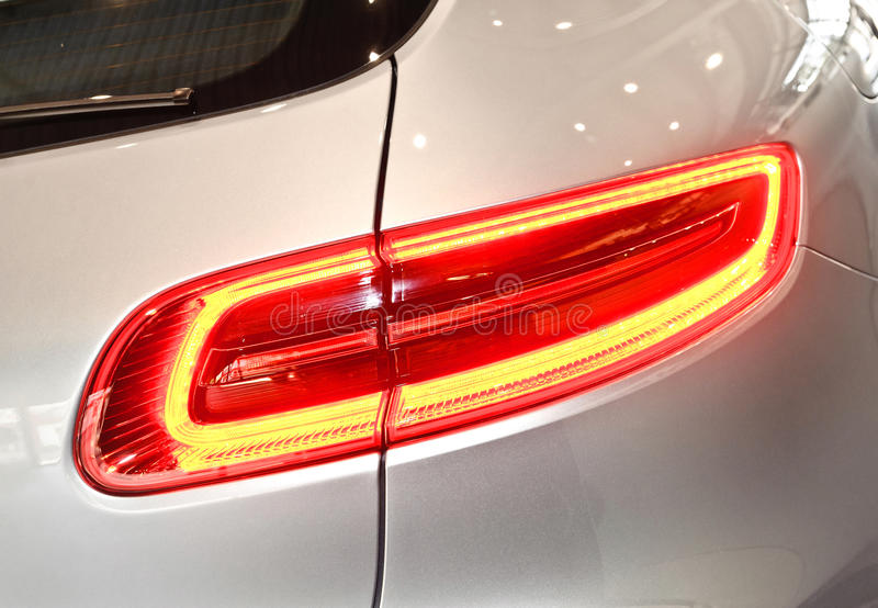 Taillight car royalty free stock photography