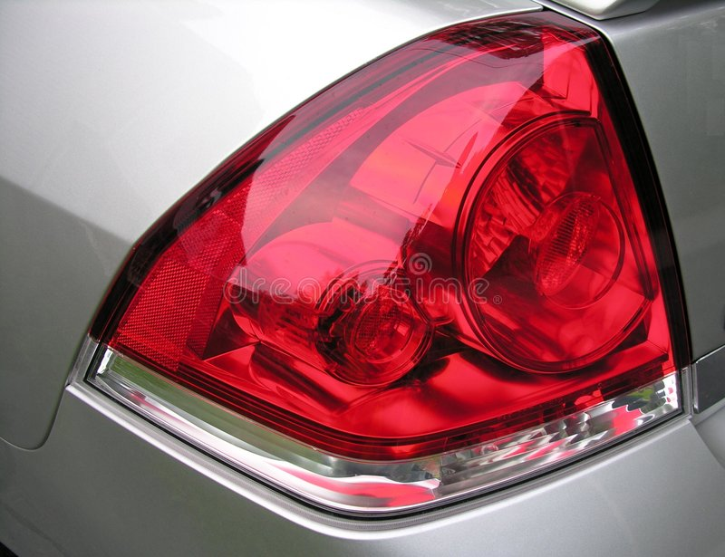 Taillight lenses stock photography