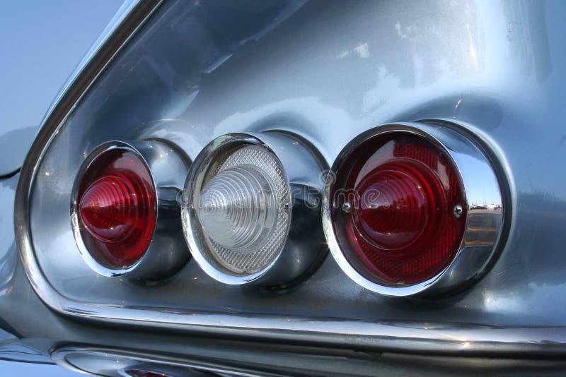 Taillights do Impala imagens de stock royalty free