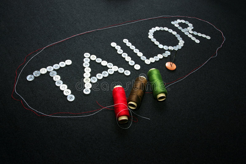 Download Tailor stock photo. Image of cloth, homemade, buttons - 1702428