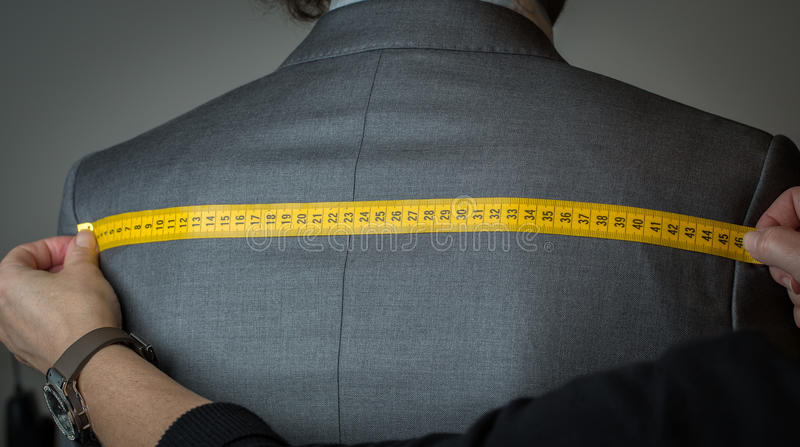 Tailor measuring royalty free stock photos