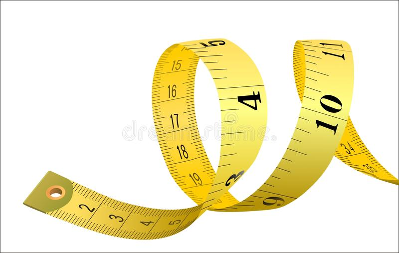 Tailor meter vector illustration