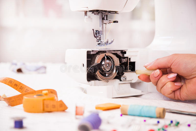 Tailor S Work Royalty Free Stock Photo