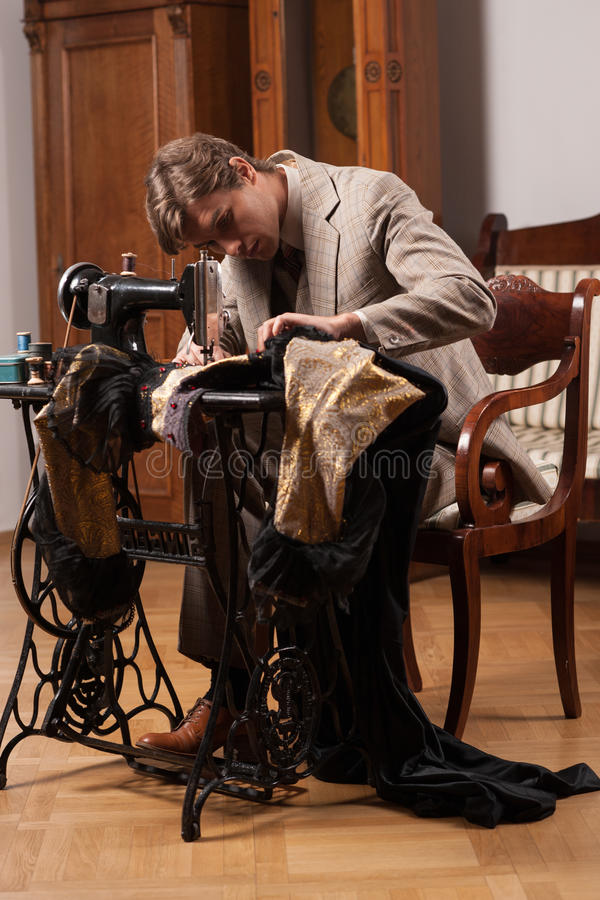 Download At the tailor shop. stock photo. Image of pattern, shop - 33941582