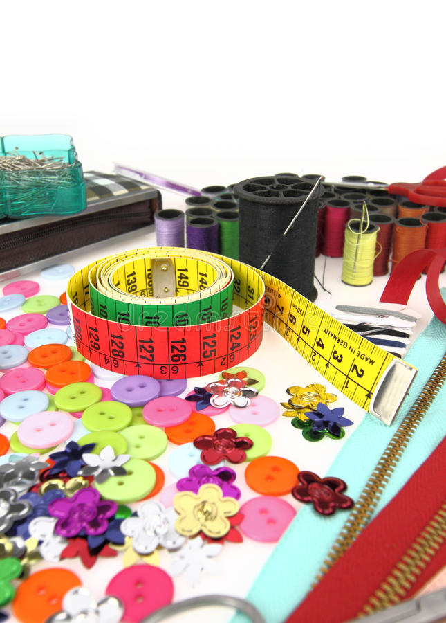 Download Tailor tools stock illustration. Image of fabric, fashion - 22677034
