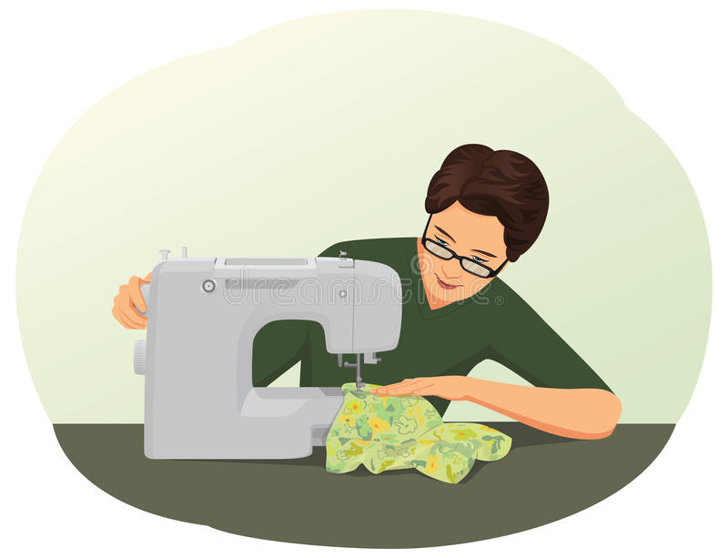 Tailor stock illustration