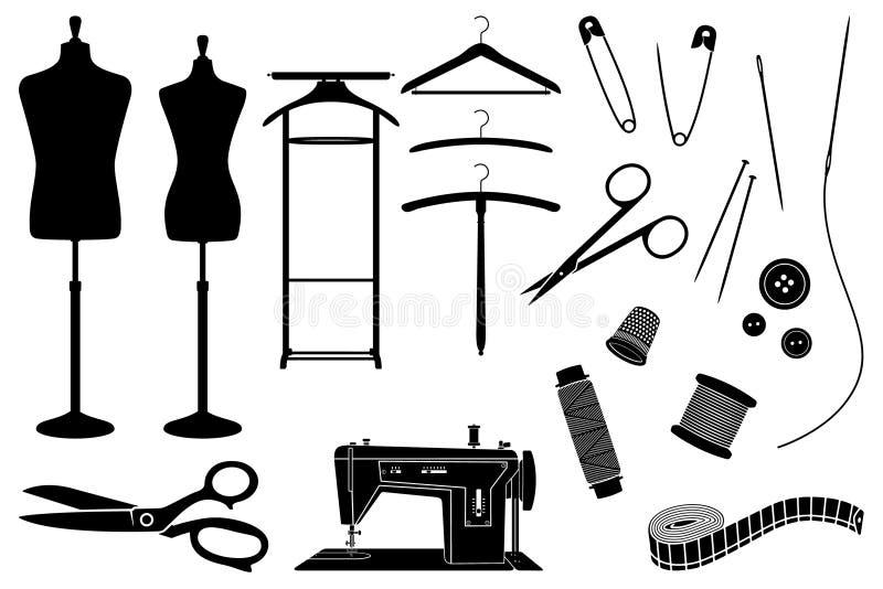 Tailoring royalty free illustration