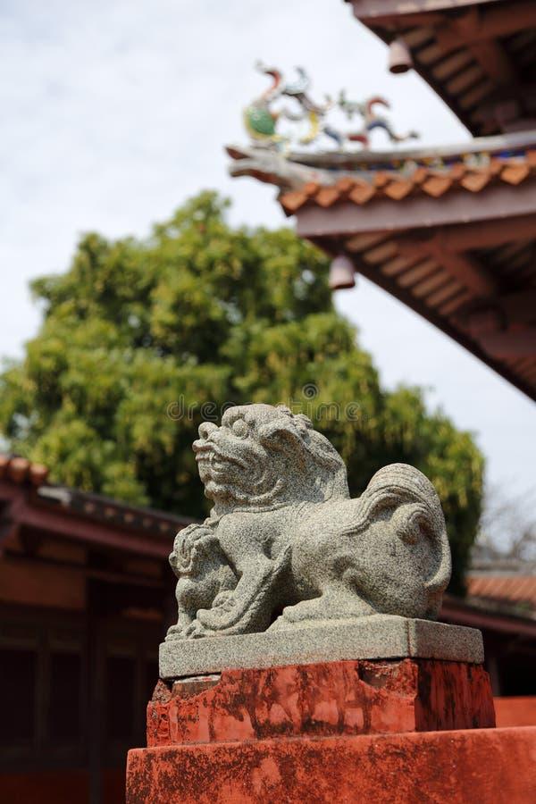 Tainan Confucian Temple,Tainan,Taiwan,2015. Tainan Confucian Temple,Tainan,Taiwan royalty free stock photo