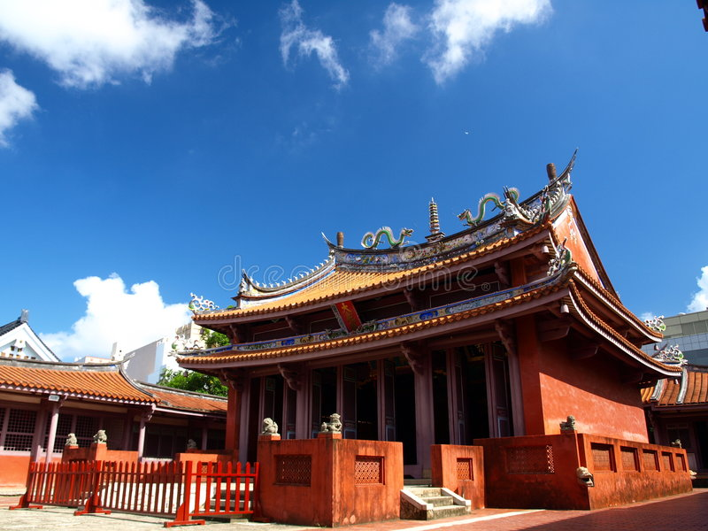 Tainan Confucius Temple royalty free stock photography