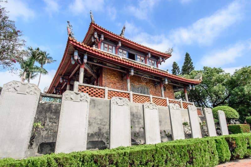 Tainan Tajwan, Listopad, - 20,2017: Chikan wierza w Tajwan zdjęcie royalty free