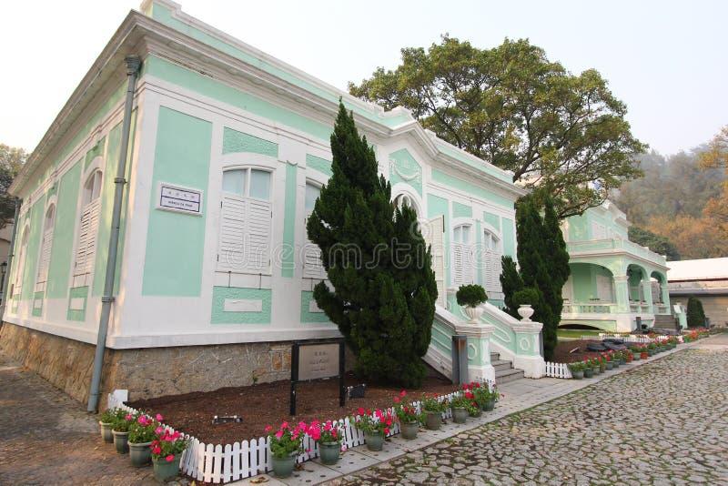 Taipa domy - muzeum, Macau zdjęcia royalty free