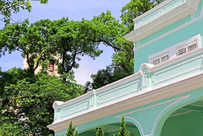 Taipa Mieści muzeum, Macau, Chiny zdjęcia stock