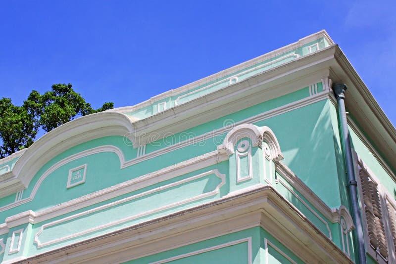 Taipa Mieści muzeum, Macau, Chiny fotografia royalty free