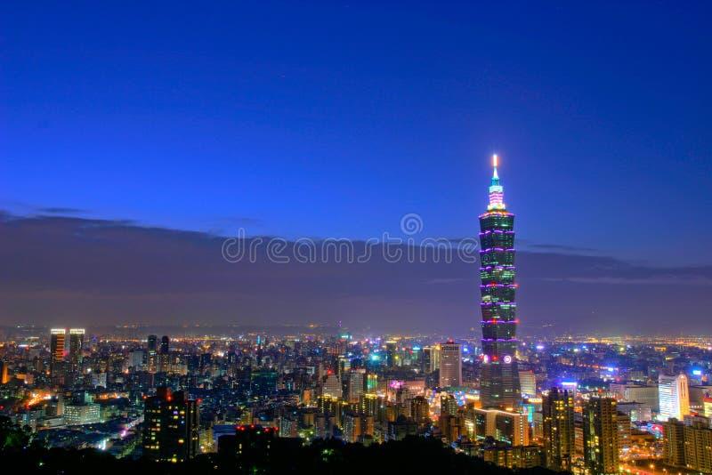 Taipeh 101 fotografia stock libera da diritti