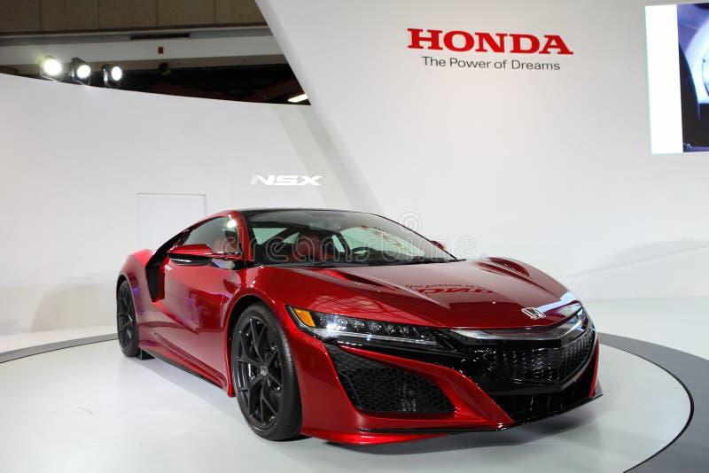 TAIPEH - 3. Januar: Honda NSX gezeigt an der Taipeh-International-Automobilausstellung lizenzfreie stockbilder