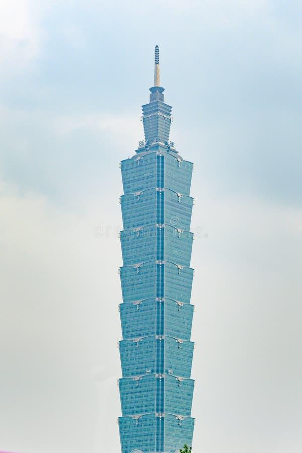 Taipeh 101, Taiwan Het Financiële Centrum van Taipeh, de Bamboestok royalty-vrije stock foto